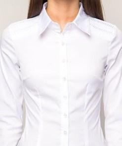 Блузка женская 1327 белый цвет
