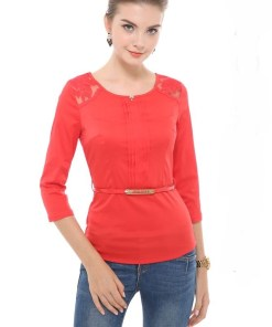 Блуза женская 13280 белый цвет