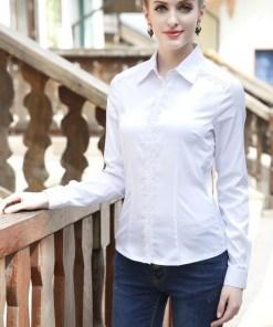 Блузка женская 1391 белый цвет