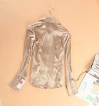 Блузка женская 171706 золотистый цвет