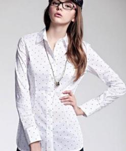 Блузка женская 171708 белый