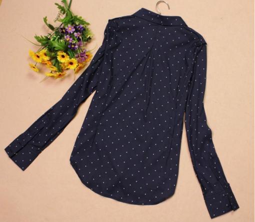 Блузка женская 171708 темно-синий