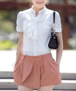 Блузка женская 171719 молочный цвет