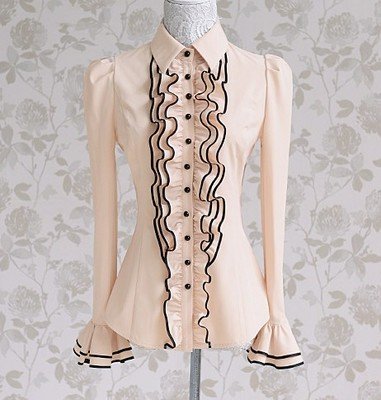 Блузка женская 171725 бежевый цвет