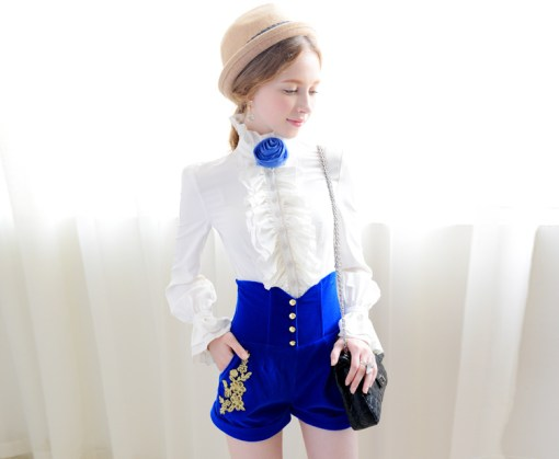 Блузка женская 171736 цвет молочный цвет