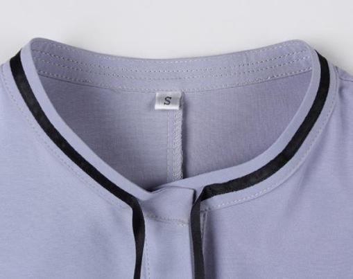 Блузка женская 171742 серый цвет