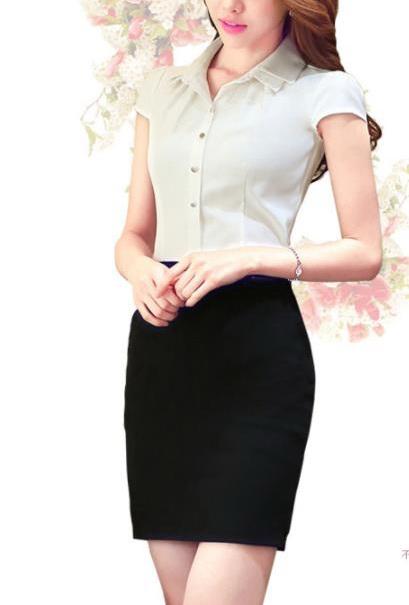 Блуза женская 171743 молочный цвет