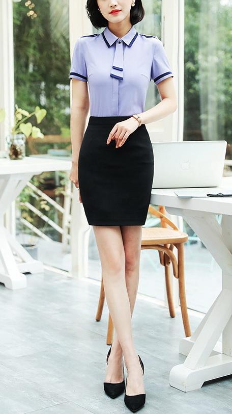 Блузка женская 171759 фиолетово-серый цвет