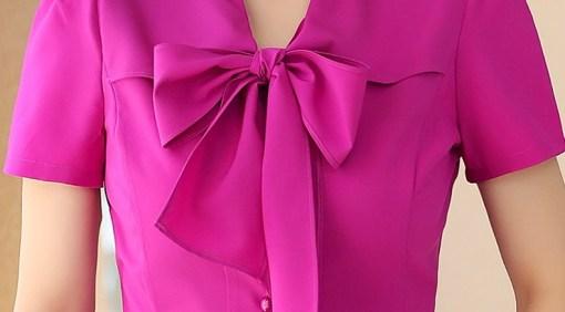 Блузка женская 171762 пурпурный цвет