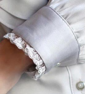 Блузка женская 171765 серый цвет