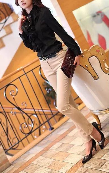 Блузка женская 171765 черный цвет
