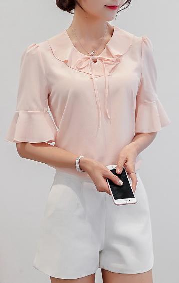 Блуза женская 171776 белый цвет