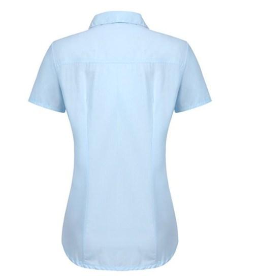 Блузка женская 171782 голубой цвет