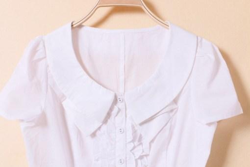 Блузка женская 171783 белый цвет