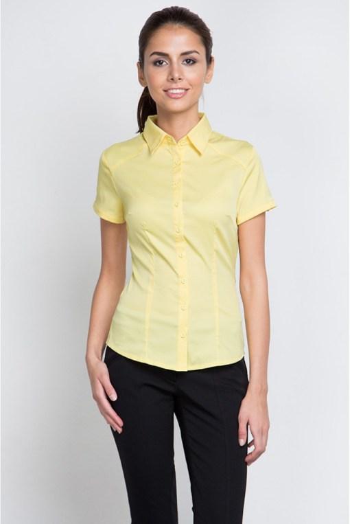 Блузка женская 8195-1 желтый цвет