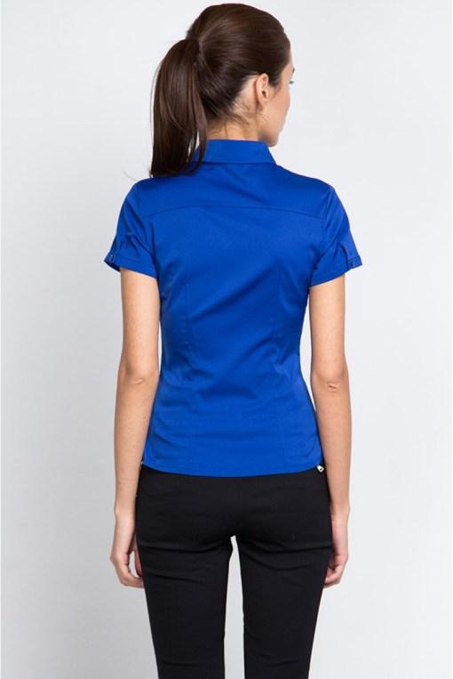 Блузка женская 8195-1 электрик цвет