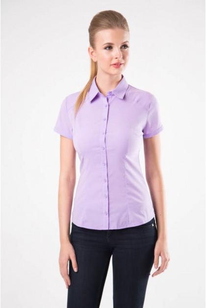Блузка женская 8195-1 сиреневый цвет