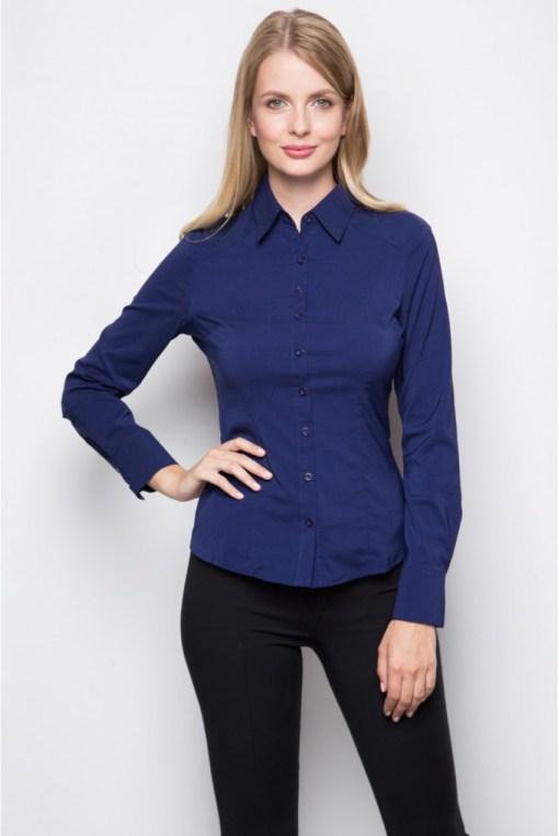 Блузка женская 8195L темно-серый цвет