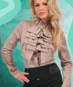 Блузка женская Анна крем-брюле цвет