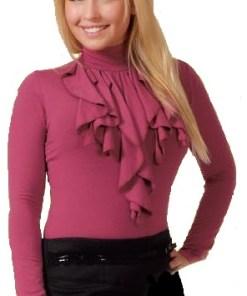 Водолазка женская Джада брусничный цвет