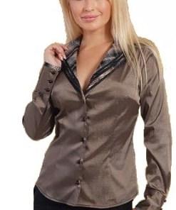 Блузка женская Марина бронзовый цвет