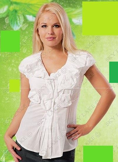 Блузка женская Сидни белый цвет