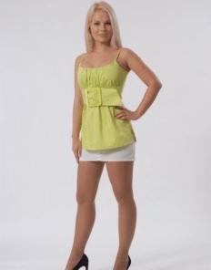 Блуза женская 937 салатовый цвет