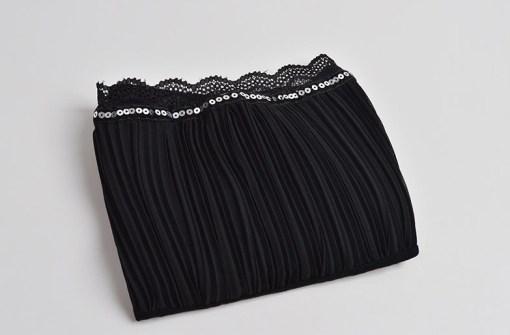 Топ-майка женский 171778 черный цвет