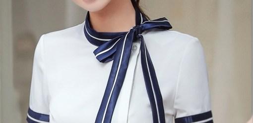 Блузка женская 171792 белый цвет