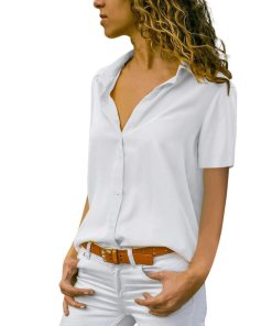 Блузка женская 1717100 белый цвет