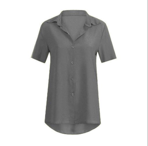 Блузка женская 1717100 серый цвет