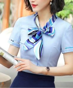 Блузка женская 171794 белый цвет