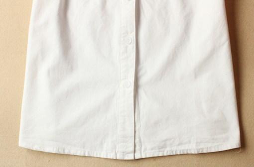 Блузка женская 171799 белый цвет