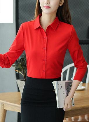 Блузка женская 1717102 красный цвет