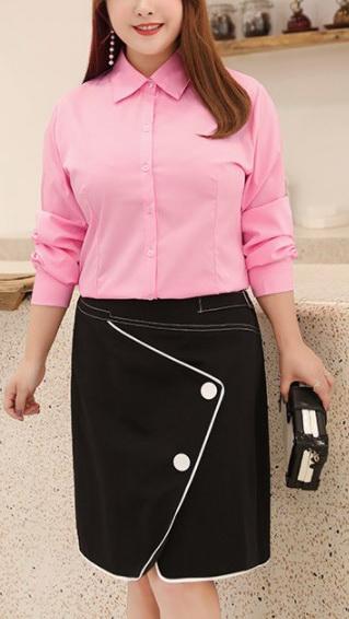 Блузка женская 1717105 розовый цвет
