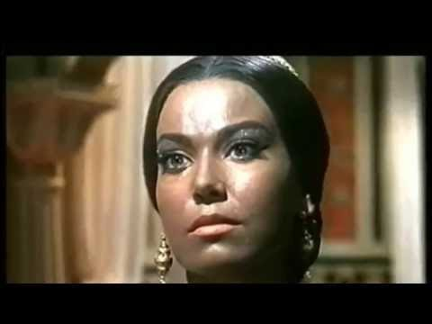 Luciana Gilli in the Temple of the Thousand Lights with Richard Harrison