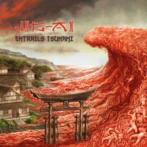Jig-Ai Entrails Tsunami CD cover