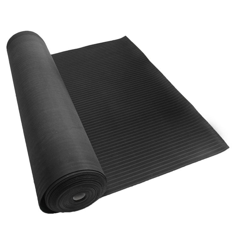 Corrugated Composite Rib Rubber Runner Mats  The Rubber