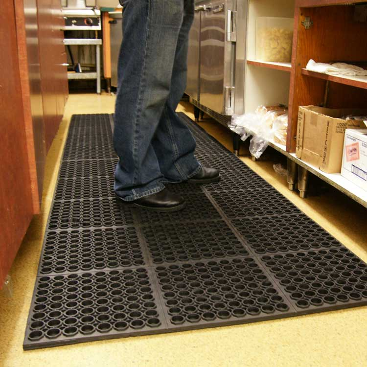 large kitchen mats cabinets ft myers fl dura chef 7 8 inch anti fatigue