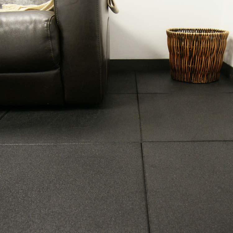 EcoSport 34inch Interlocking Rubber Flooring Tiles