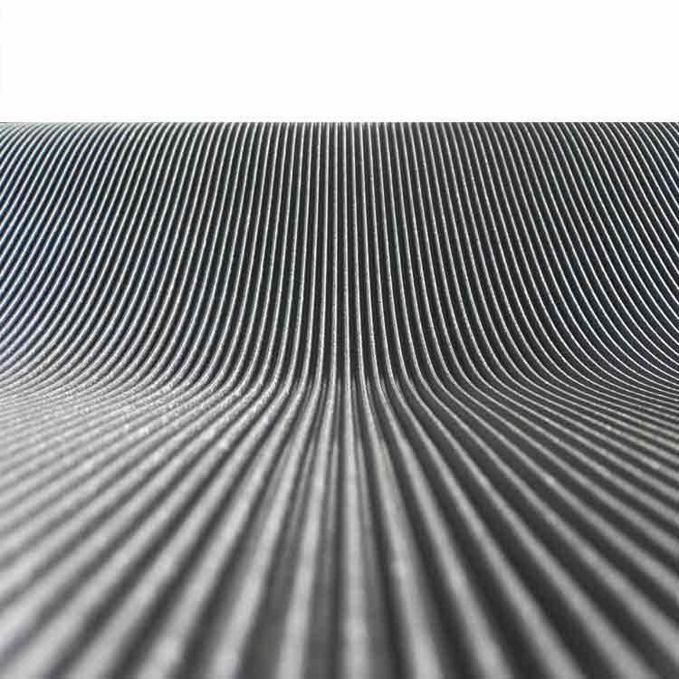 Corrugated Fine Rib Rubber Runner Mats  The Rubber