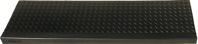 """Diamond Plate Commercial"""" Rubber Stair Treads 6 Packs 