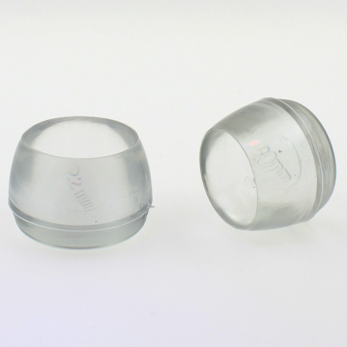rubber chair leg protectors bar chairs amazon 12mm∅ clear end caps for | legs floor
