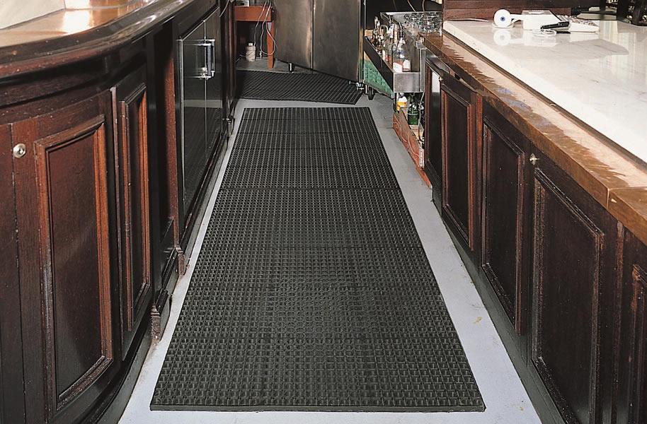 kitchen mats sink with backsplash cushion tred