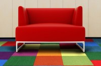 Shaw Color Accents - Colorful Carpet Tile Squares