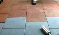 Gym Flooring Rubber Tiles | Fab Floorings India