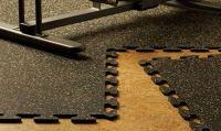 Interlocking Rubber Tiles for Gym Flooring