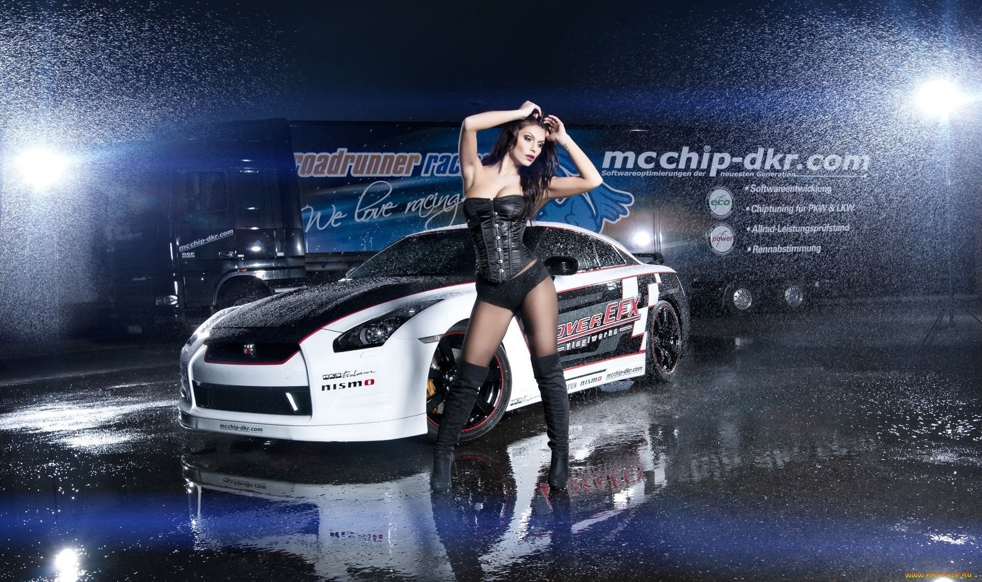 Cars Wallpaper Infront Of Skyline 60 Sexy Cars And Girls Wallpaper And Pictures