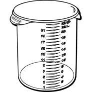 5728-24 Round Storage Container