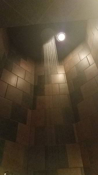 17 ft shower